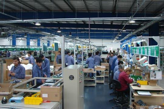 Una vista del centro de producción de BGH. Foto: Gentileza BGH
