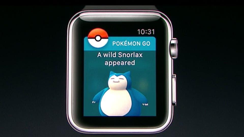 Apple Watch tendrá una versión adaptada de Pokémon Go.