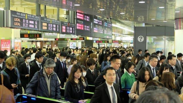 Japón es uno de los países desarrollados con una de las jornadas de trabajo más largas