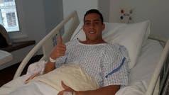 Ramiro Funes Mori fue operado de la rodilla y ya piensa en volver para la recta final de las eliminatorias con la selección
