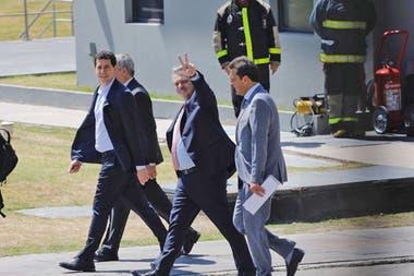 Fernández ultimó ayer, en la residencia de Olivos, los detalles de las medidas económicas que enviará al Congreso