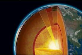 El centro de la Tierra podría alcanzar los 6000 grados centígrados