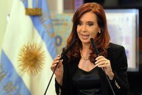 La presidenta Cristina Kirchner cerró una conferencia por el desarme nuclear