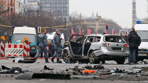 Explotó un coche bomba en Berlín: un muerto