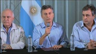 El presidente Mauricio Macri en Santa Fe