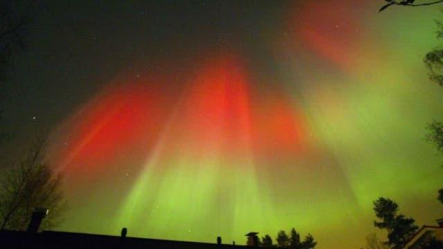En 2003 ocurrió una de las más grandes formaciones de auroras boreales de los últimos años. Este vistoso fenómeno es uno de los efectos de la llegada de partículas solares a la Tierra