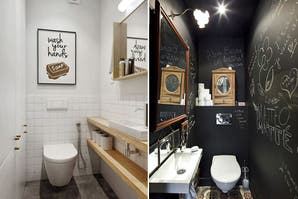 10 formas de decorar un toilette