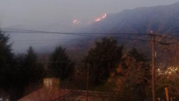 Fuego en el Valle de Punilla
