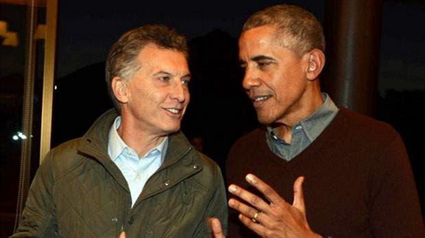 Macri y Obama