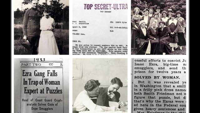 """Fotos de los Friedman y recortes de diarios de época recolectados por Fagone para su libro sobre la """"heroína estadounidense olvidada"""". (Foto: Jason Fagone)"""