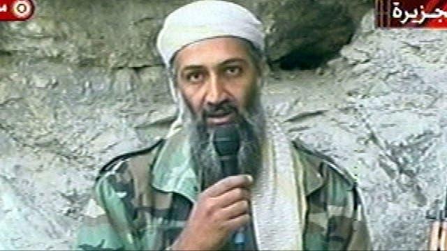 El líder terrorista Osama ben Laden, en 2001