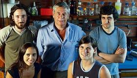 De izquierda a derecha, Abel Carcagno, Julieta Ceruti, Eduardo Cánepa, Mariela Marazita y Pablo Sirkin