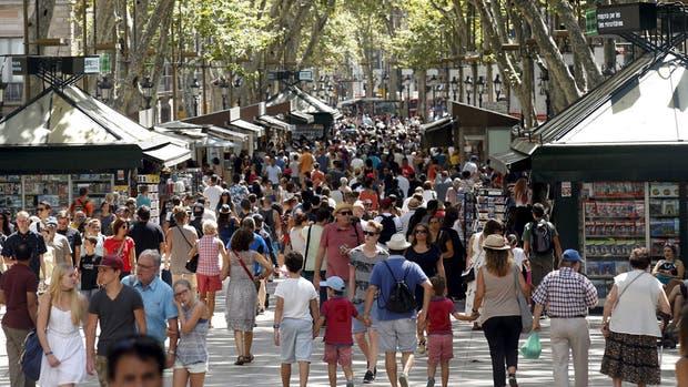 Las Ramblas es uno de los paseos más turísticos de Barcelona