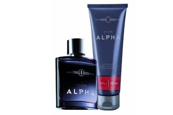 Alpha de Avon es una fragancia amaderada en la base. Sensual y energizante para el Día del Padre viene con crema para después de afeitar ($290). Foto: Gentileza Húngara Comunicación