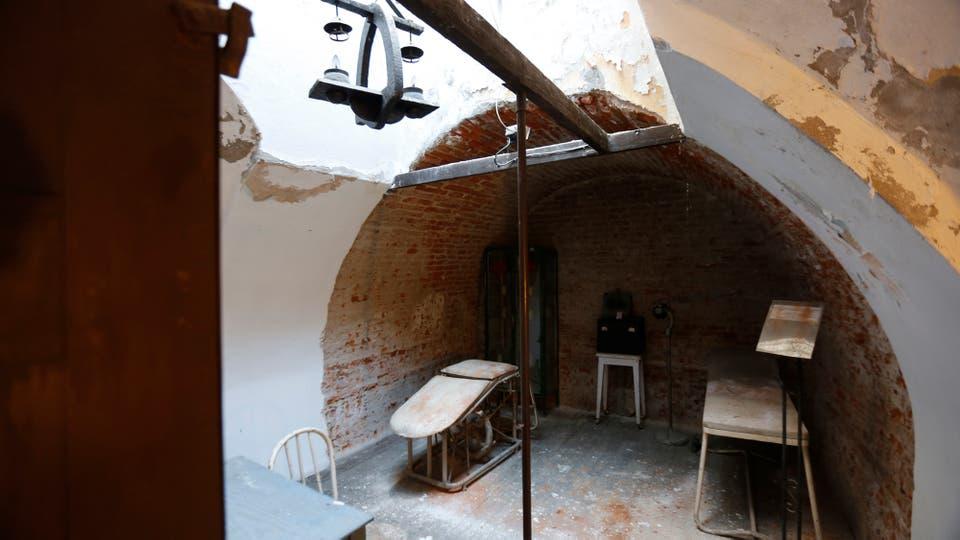 El Museo Penitenciario, que funcionaba allí, fue cerrado en 2012 y ahora sólo se abre para peñas. Foto: LA NACION / Fernando Massobrio