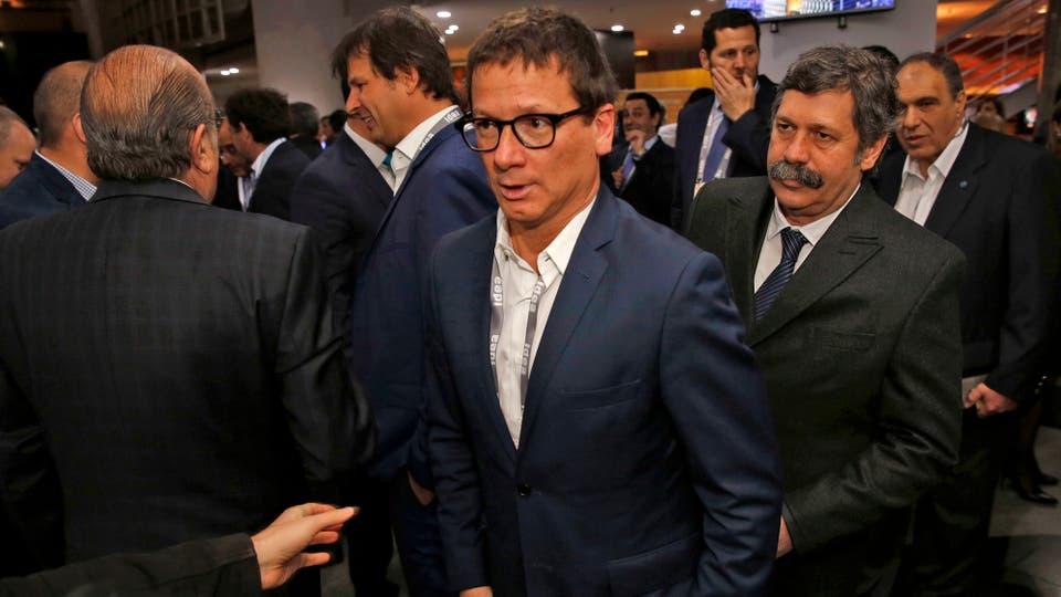 Gabriel Martino, presidente de HSBC, presente en el Coloquio de IDEA. Foto: LA NACION / Mauro V. Rizzi