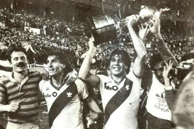 River conquistó la Copa de 1986 tras su paso por Ecuador