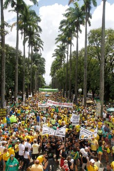 La Plaza de la Libertad en Belo Horizonte. Foto: EFE