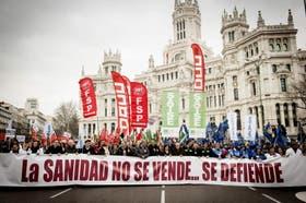Miles de personas marcharon en Madrid y Barcelona