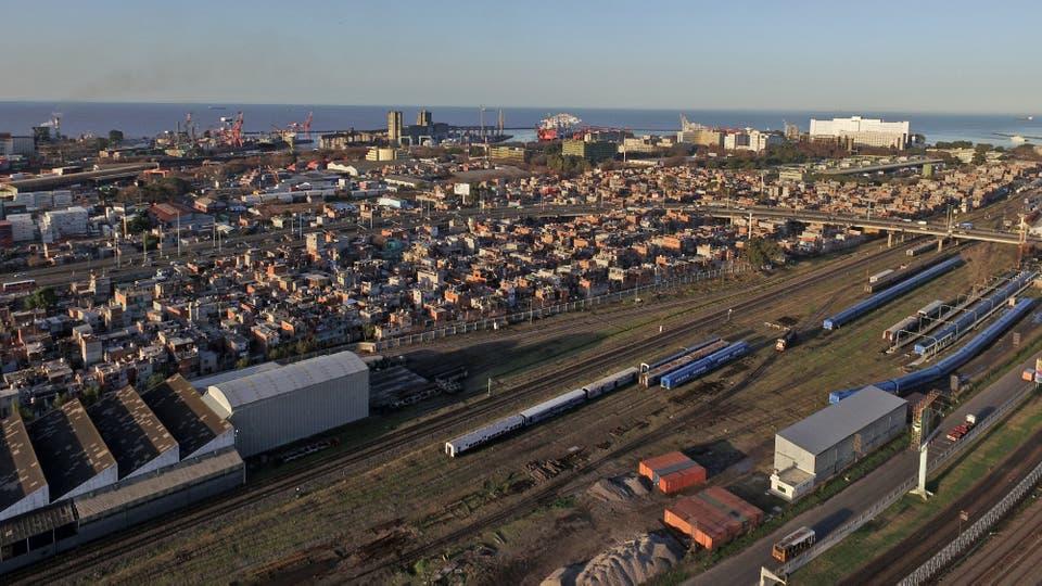 En la Vila 31 viven más de 40.000 personas en 320 hectáreas. Foto: LA NACION / Emiliano Lasalvia