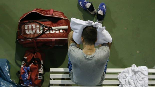 Del Potro tiene rival para el US Open: el suizo Laaksonen