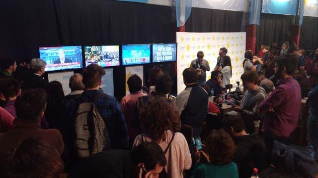 Cristina Kirchner reconoce la derrota ante la coalición de Macri