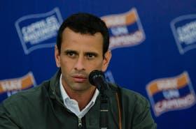 """El candidato a la presidencia Henrique Capriles Radonski afirmó que """"ya tengo en mente quién va a ser el Ministro de la Defensa en mi gobierno"""""""