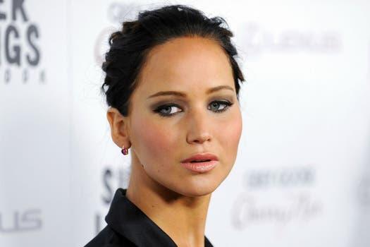 Jennifer Lawrence, en la proyección de su nueva película Silver Linings Playbook, en Beverly Hills, California. Foto: Reuters
