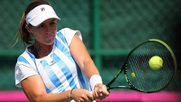 Argentina superó a Colombia — Fed Cup