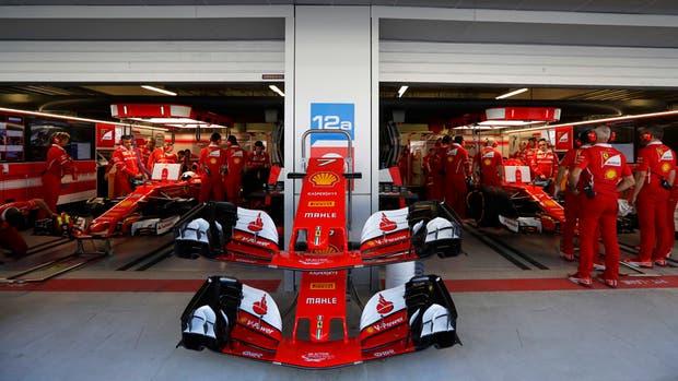 Las Ferrari fueron las más rápidas en Sochi