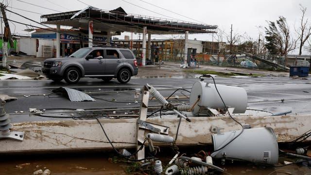 El huracán Irma había barrido Puerto Rico el pasado 6 de septiembre y había dejado a más de un millón de personas sin electricidad, pero sin causar muertes ni daños generalizados como en islas cercanas