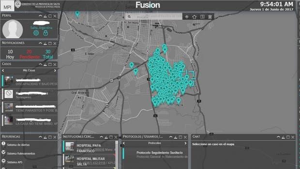 Así es el sistema que registra diversos datos en tiempo real para analizar las necesidades y requerimientos de las poblaciones vulnerables en tiempo real