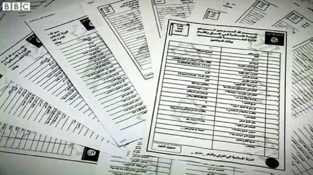 Los documentos habrían sido redactados entre 2013 y 2014 y en ellos se pregunta a los militantes si prefieren ser guerrilleros o atacantes suicidas.