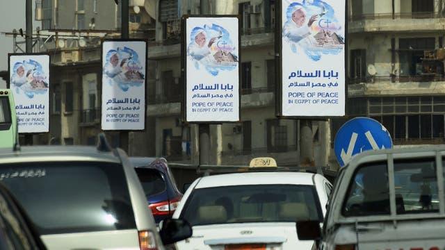 """""""Papa de la paz en un Egipto de paz"""", el lema de la visita de Francisco"""