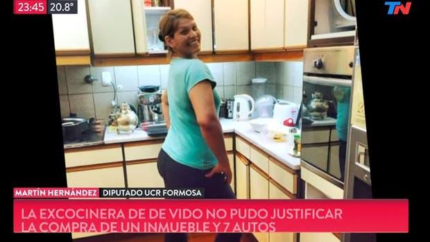 Le secuestran cuatro autos a la cocinera de Julio de Vido