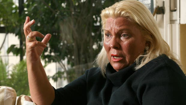 """Carrió celebró la detención de Milani y lo consideró """"un genocida y partícipe necesario en la muerte de Nisman"""""""