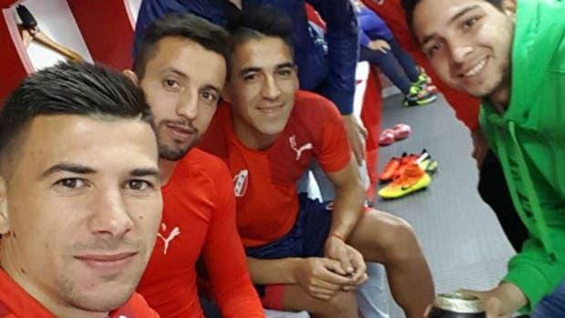 Víctor Cuesta volvió a entrenarse en el Rojo
