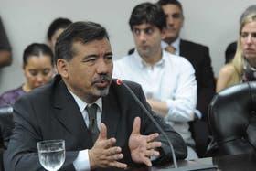 Alfonso, en septiembre, durante una audiencia en el Consejo de la Magistratura