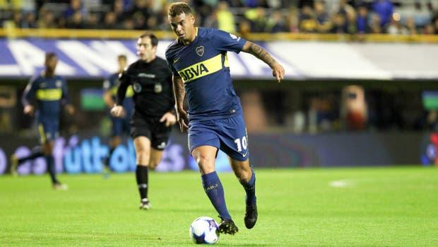 Cardona, en acción; el colombiano tiene clase