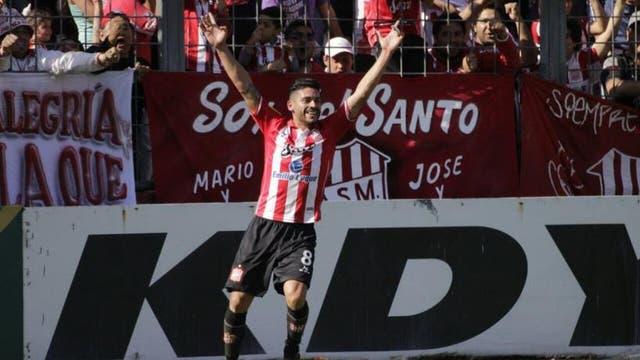 San Martín ganó con un golazo de Galeano