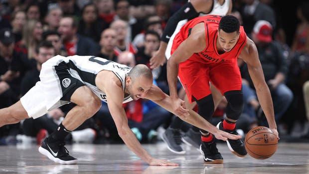 Portland halagó a Ginóbili luego de su gran actuación con San Antonio Spurs