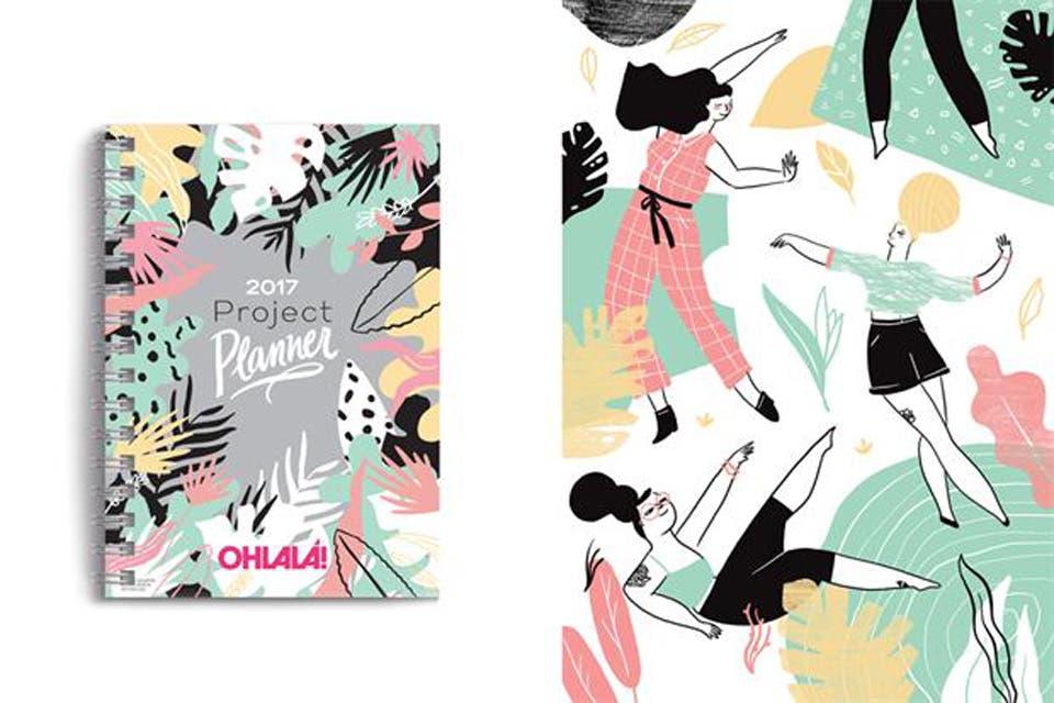 Project Planner de Ohlalá! (En quiosco de revistas, $90). Foto: OHLALÁ!