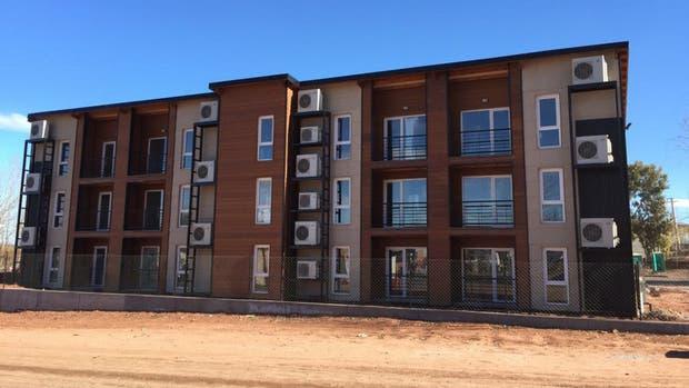 Los edificios de Altos de Añelo están terminados y permiten invertir a través del crownfunding
