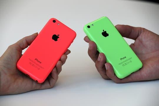 También tiene soporte para redes LTE y el chip A6 del iPhone 5. Foto: AFP