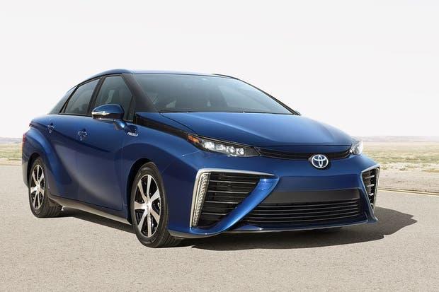 El Toyota Mirai (