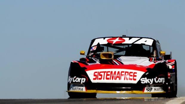 Matías Rossi, primero en la clasificación