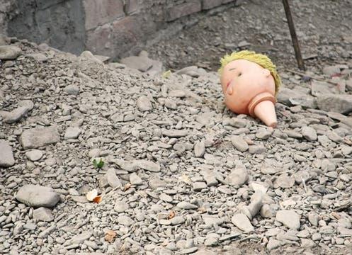 Las precarias condiciones en las que habitan muchos niños de la provincia comprometen cada vez más su alimentación; la pobreza extrema los vuelve aún más vulnerables. Foto: lanacion.com / Alan Goldfarb