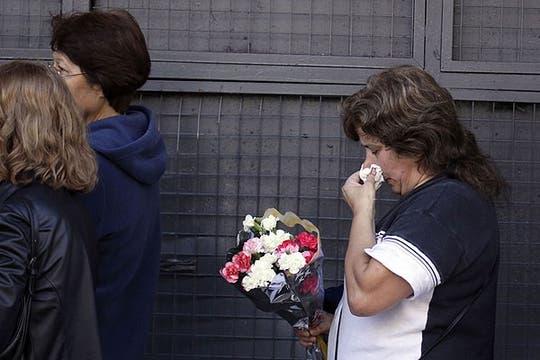 El dolor en el adiós. Foto: Reuters