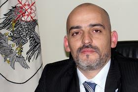 El diputado Alejandro García, uno de los protagonistas de la pelea de anoche