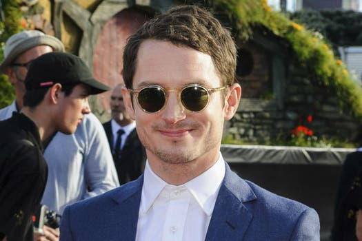 Elijah Wood en la premiere de su nuevo film The Hobbit: An Unexpected Journey, en Wellington. Foto: Reuters